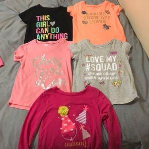 4t shirt bundle